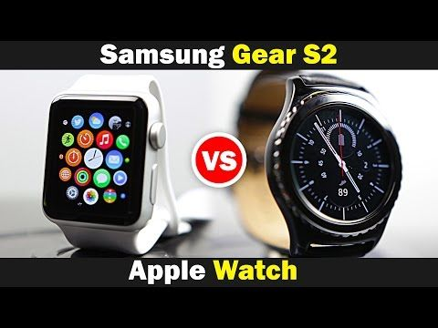 Samsung Gear S2 vs Apple Watch - Ultimate Smartwatch Comparison - YouTube