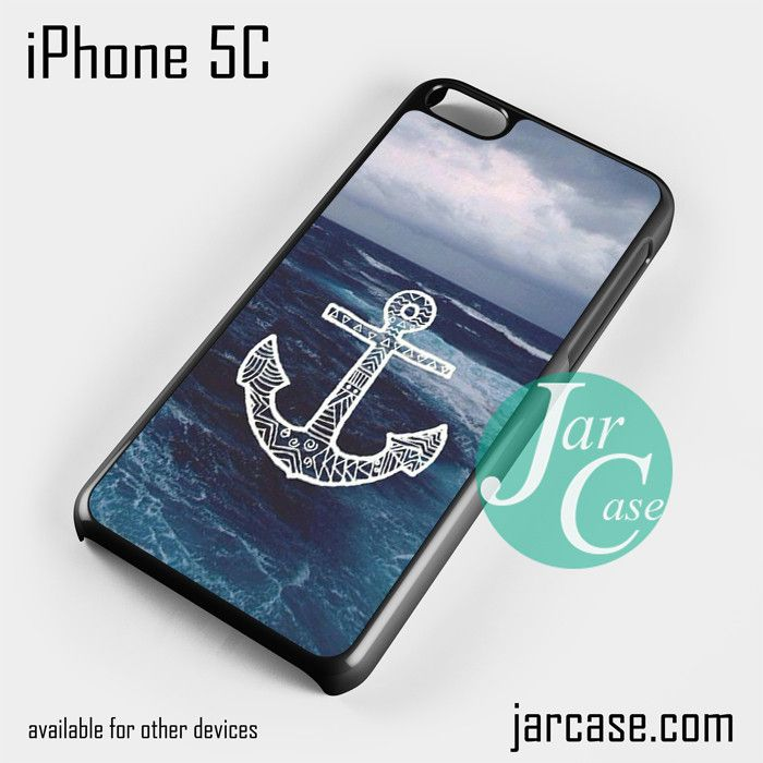 Cute Anchor (3) Phone case for iPhone 5C and other iPhone devices