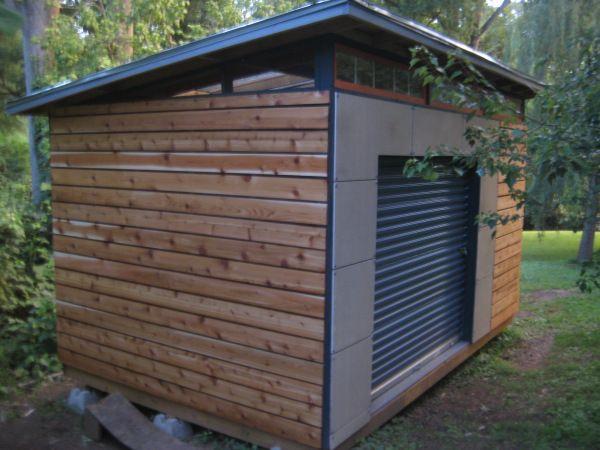 DIY Modern Shed project diyatlantamodern Modern shed