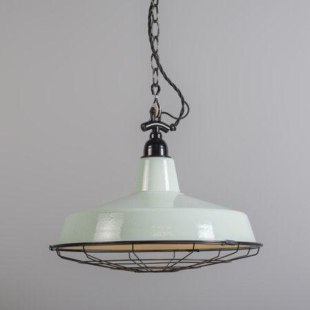 Lámpara colgante LOEK verde claro #iluminacion #decoracion #interiorismo