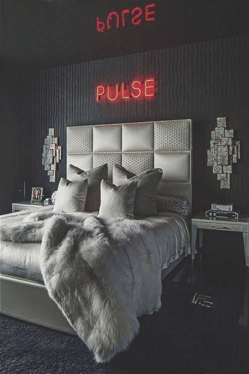 Die besten 25+ Glam schlafzimmer Ideen auf Pinterest - schlafzimmer deko ideen grau