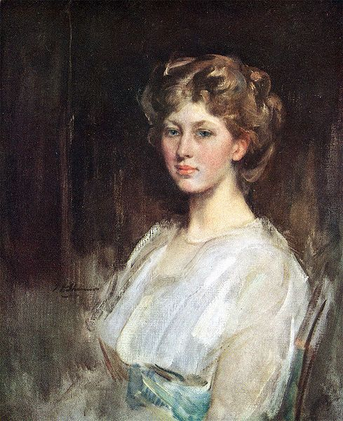 MARY, PRINCESS ROYAL  by James Jebusa Shannon. The only sister of the Duke of Windsor was very close to him. After his abdication Mary and her husband went to  to stay with him at Enzenfeld Castle near Vienna. She reportedly boycotted the wedding of her niece Princess Elizabeth to Phillip because The Duke & Duchess of Windsor had not been invited.