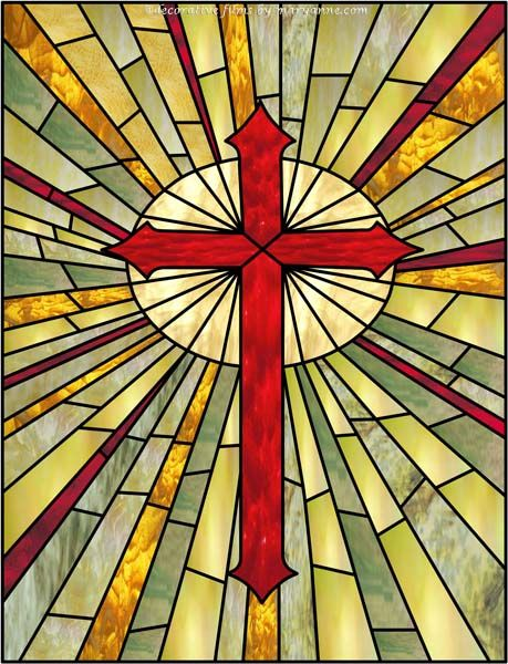 Best 25+ Stain glass cross ideas on Pinterest | Hanging ...
