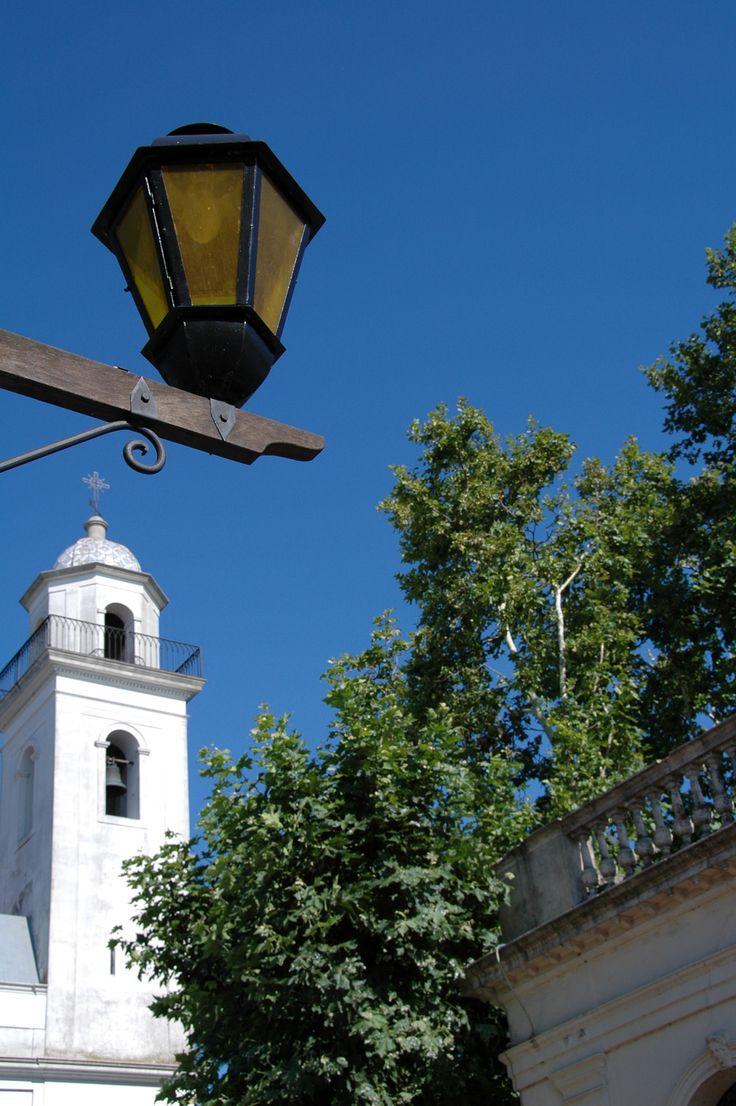 Catedral en Colonia del Sacramento, Uruguay