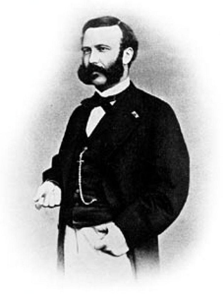 Henri Dunant, il crée en 1863 avec 4 amis genevois  une organisation internationale et neutre  destinée à secourir les victimes de guerre le Comité International de la Croix-Rouge (CICR)
