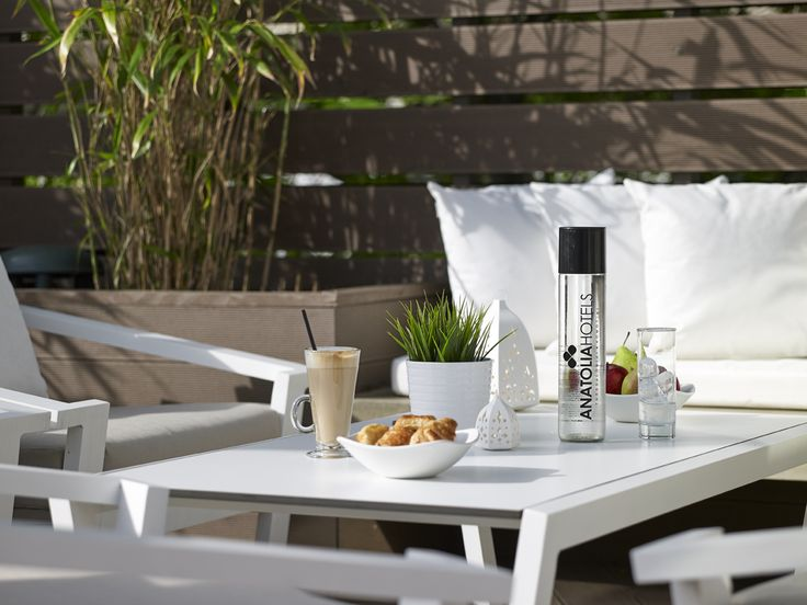 "Enjoy your morning coffee at our ""Secret Terrace"""