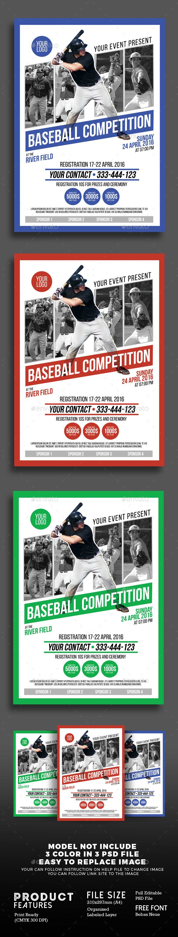 25 best ideas about Format flyer – Competition Flyer Template