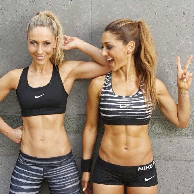 Girls Fitnessgirls Abs Motivation Fitness Amazing  -1153