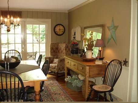 23 best images about country dining rooms on pinterest for Country dining room ideas