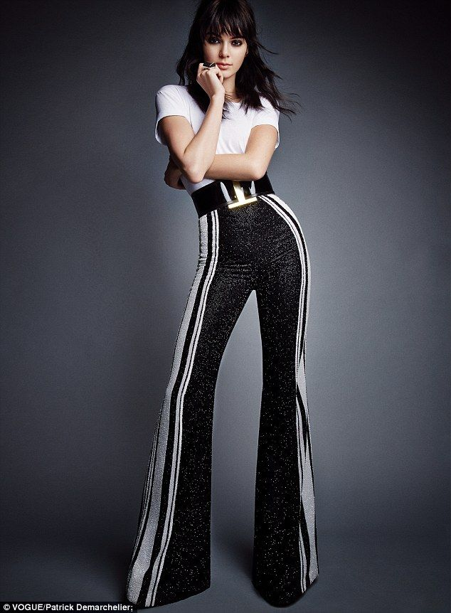 A favourite: Kendall Jenner has landed yet another spread for Vogue, just a couple of months after her last appearance