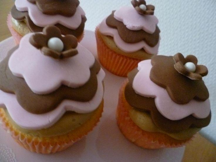 Cupcake met dekseltje
