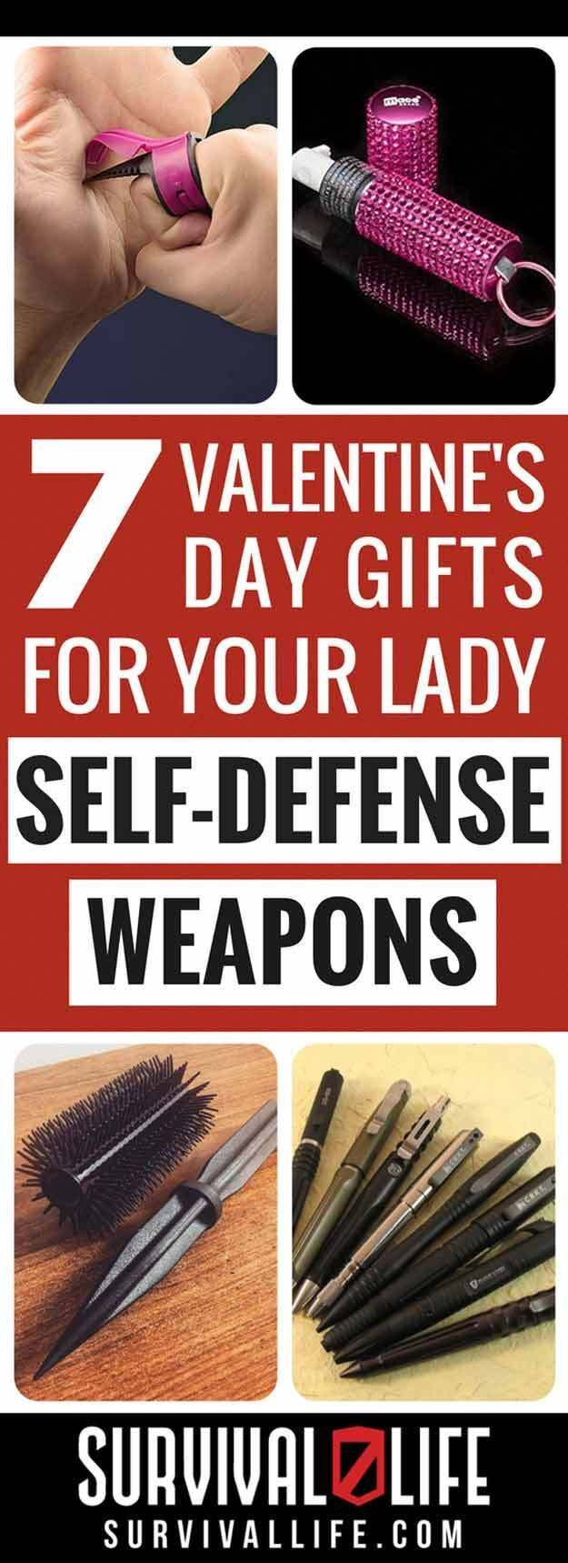 Valentine's Day Gifts For Her | Self-Defense Weapons For Women | Cool and Unique Tools for your Love Ones - Survival Life