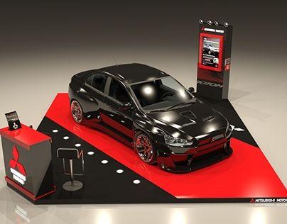Exhibition for Mitsubishi