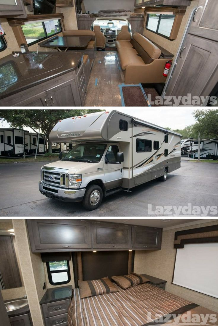 Small class c rv models quotes - Explore In Style With The 2018 Class C Winnebago Minnie Winnie From Lazydays Rv