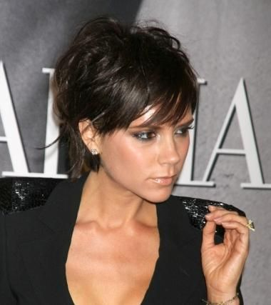 stacked haircuts | Hottest Hollywood Hairstyles-Victoria Beckham Bob Haircuts