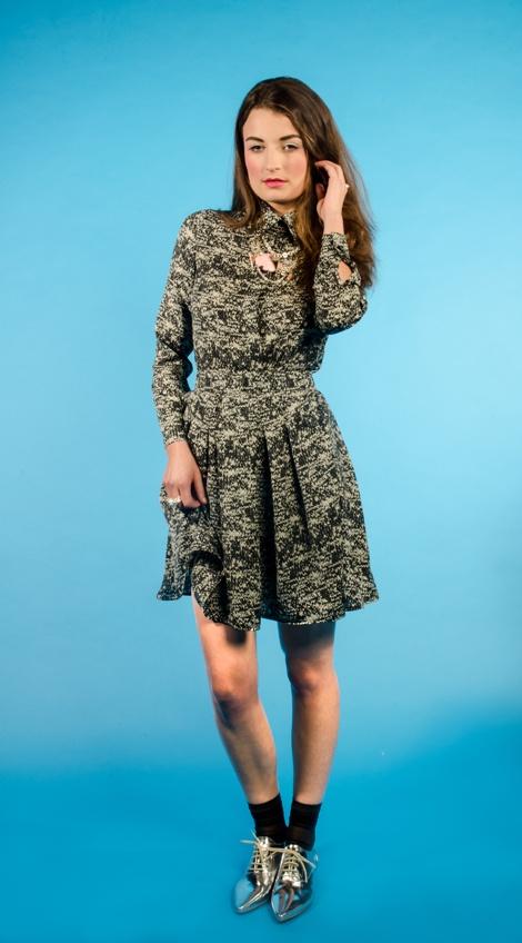 'Shoot the Air' Shirt & 'Charlotte's Revelation' Skirt   [Nikita Brown Photography]