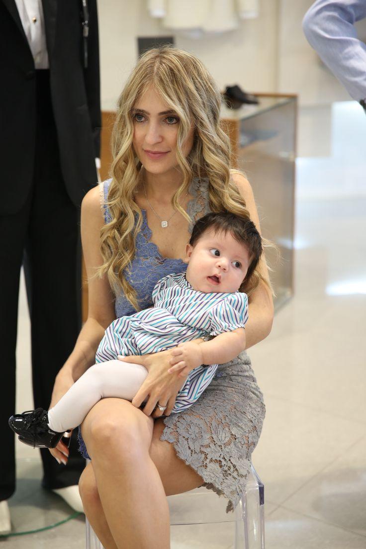 CARLOS DIEGO - Francesca Miranda Baby Trunk Show #ItaianCottonBodySuit