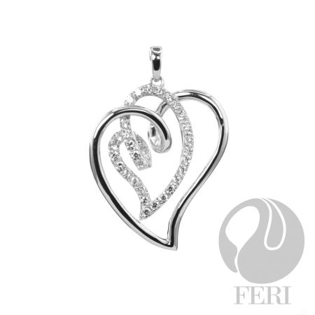 Sweetheart Pendant. $243. Just in time for Valentine's Day...sigh.