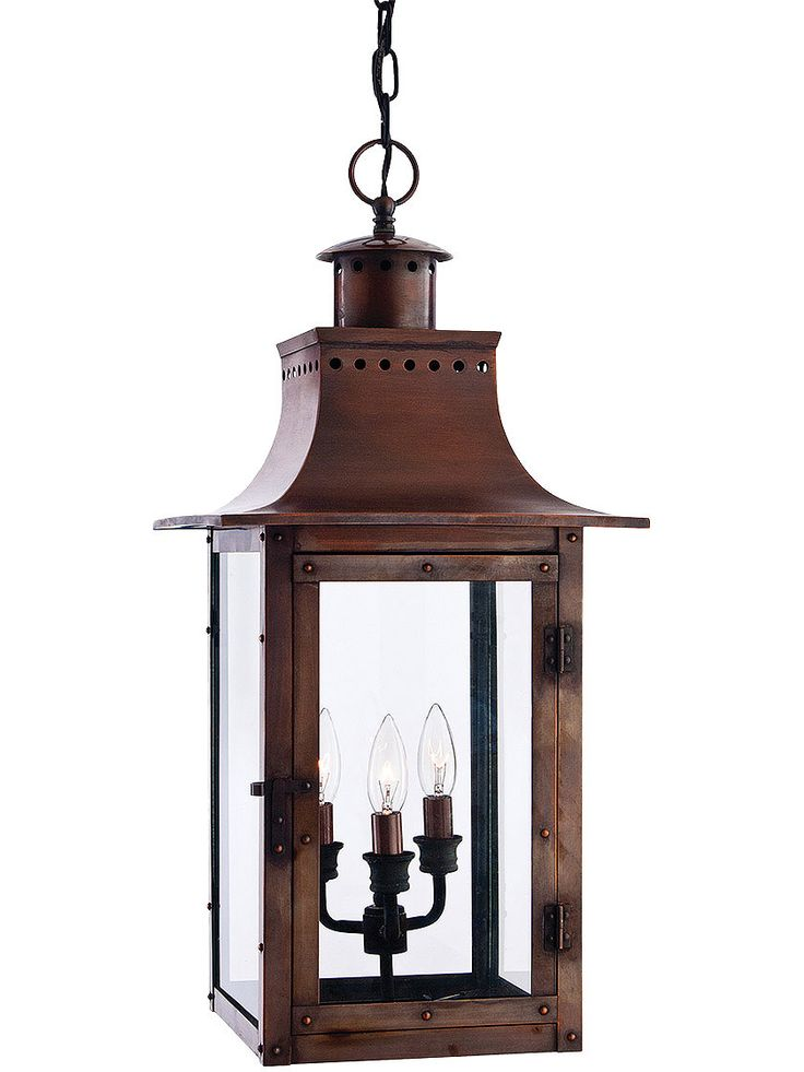 31 best pendant porch light images on pinterest front porches chalmers large hanging lantern in aged copper mozeypictures Image collections