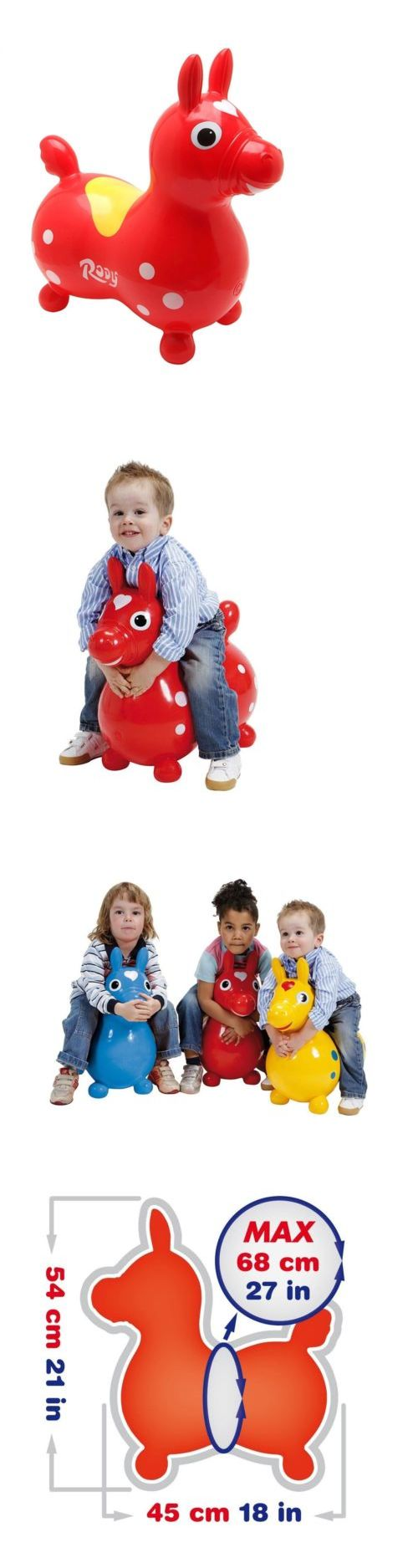 Rocking Horses 19024: Gymnic 8002 Rody Horse Ride On,Red -> BUY IT NOW ONLY: $49.95 on eBay!