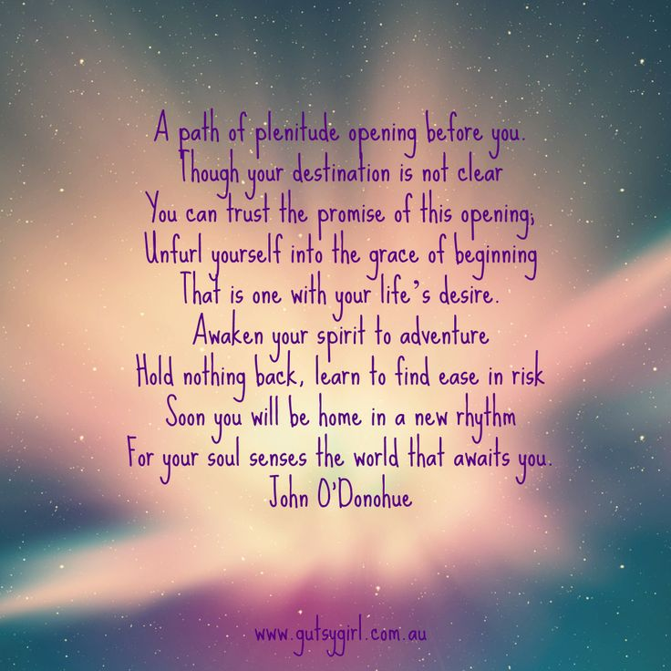 From John O'Donohue's Poem, For A New Beginning #poetry