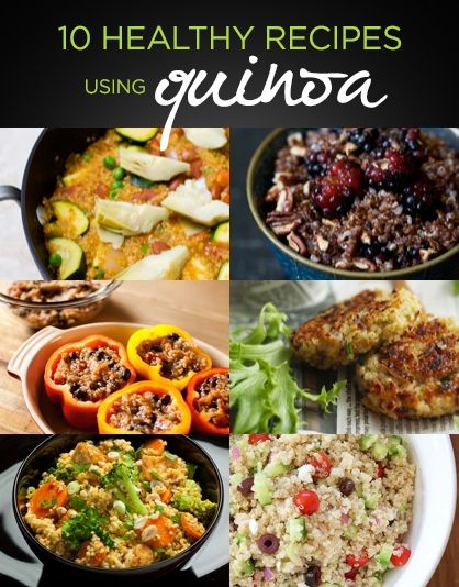 "Have you tried Quinoa yet? This ""Make it Monday"" cook up one of these delicious recipes with the protien packed grain for a satisfying summer dinner!"