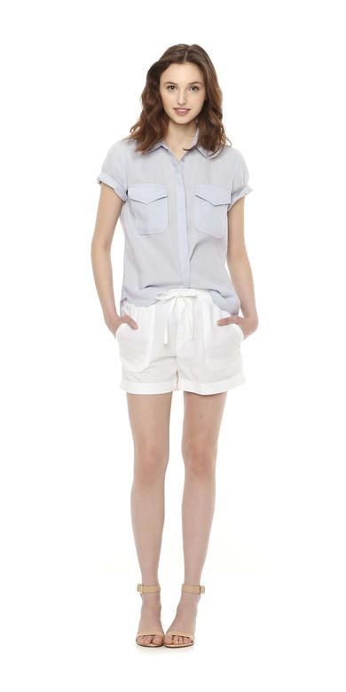 Short Sleeve Linen Shirt from Joe Fresh. Meet our new summer shirt, available in several fresh shades. Only $29.