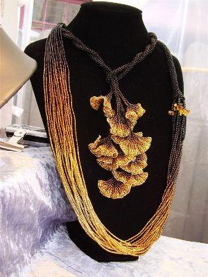Seed beads Autumn x 2