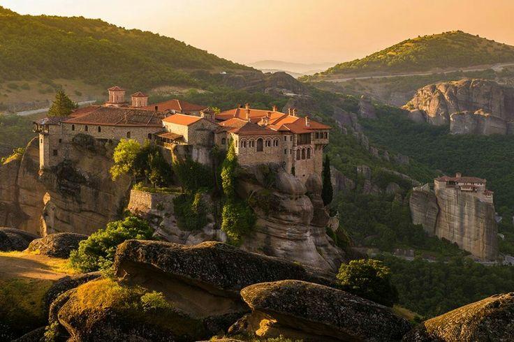 Meteora monasteries, Greece