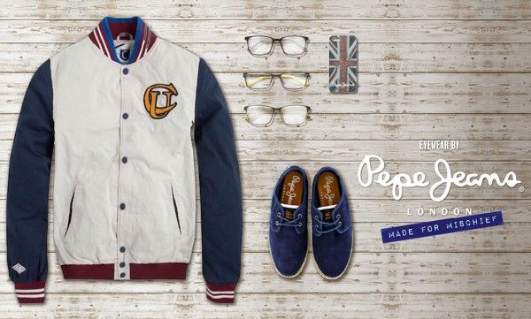 Get ready to go back to University with Pepe Jeans!