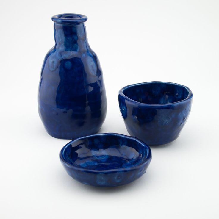 Image of 3 Piece Set | Indigo Blue