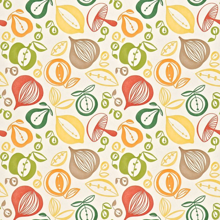 1000 images about wallpaper pattern on pinterest fruits for Kitchen wallpaper patterns