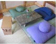 Our goal is to adapt furniture from floor sitting cultures into the modern setting.    Floor Seats come in a variety of styles, from the traditional Japanese Zafu and Tatami Mat to the Tibetan Kneeling Bench and Native America Tipi Chair that we call the Eco Backrest™. These seats help create a comfortable floor living environment. You can sit in a variety of positions as shown in the photos.    Most Americans are unaware of the floor sitting furniture that floor based cultures have…