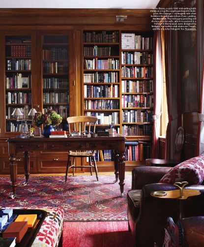 Mahogany Home Library Office: 153 Best House Idea -- Library Images On Pinterest