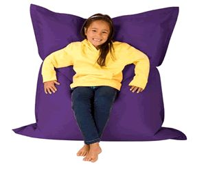 Buy one of these huge childrens bean bag chairs over at hugebeanbags.co.uk