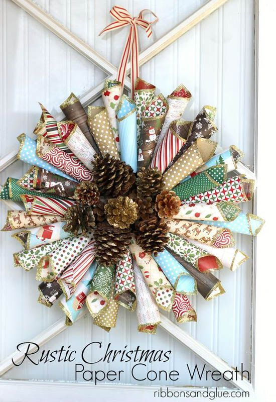 27 Crafty Paper Christmas Decorations and Ornaments All About Christmas