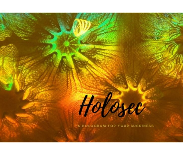 #Holograms are being considered as the ultimate idea to deal with counterfeiting of goods or #products. Genuine products can be identified effortlessly with the specially imprinted holographic stickers of HoloSec Company, UK.