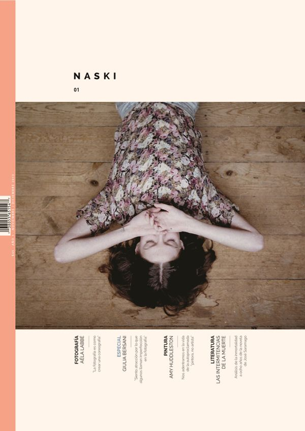naski / revista - magazine by krysthopher woods, via behance.