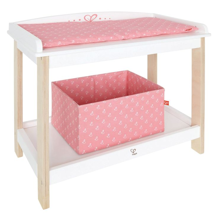 Houten poppen verzorgingstafel, zo mooi!