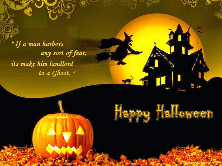 Incroyable Scary Happy Halloween Wishes