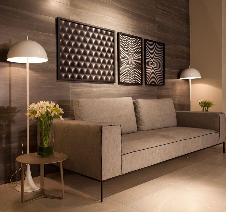 estampa geometrica em quadros e objetos decorativos