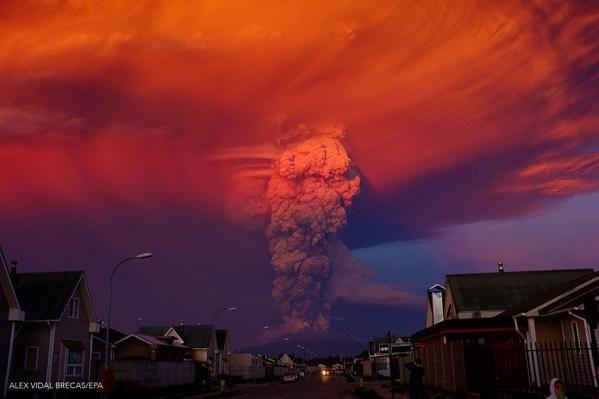 Vulcano Calbuco Cile FOTO