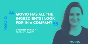 Cristina Borsan - product owner Movio