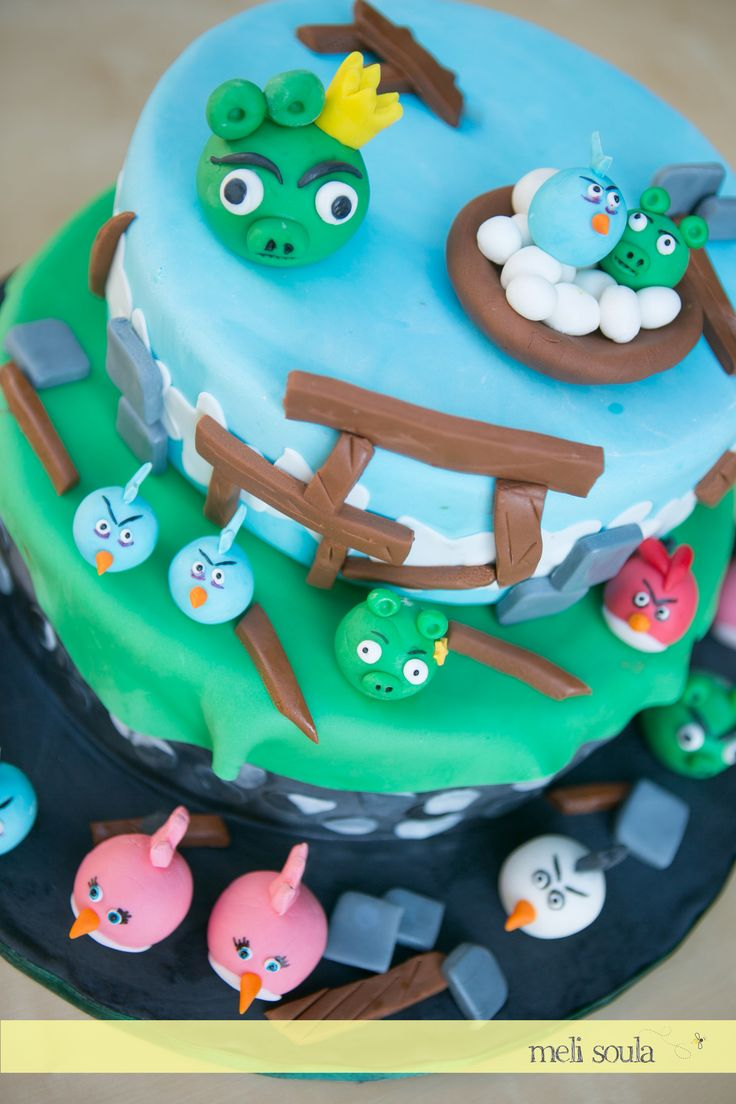 #Angrybirds# Birthday #Cake