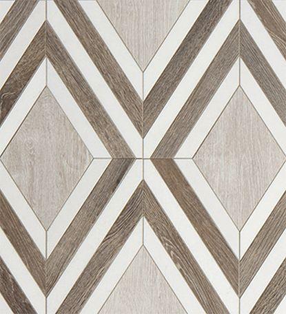 Argyle Pattern in Linen // Sterling Row // Walker Zanger #tile