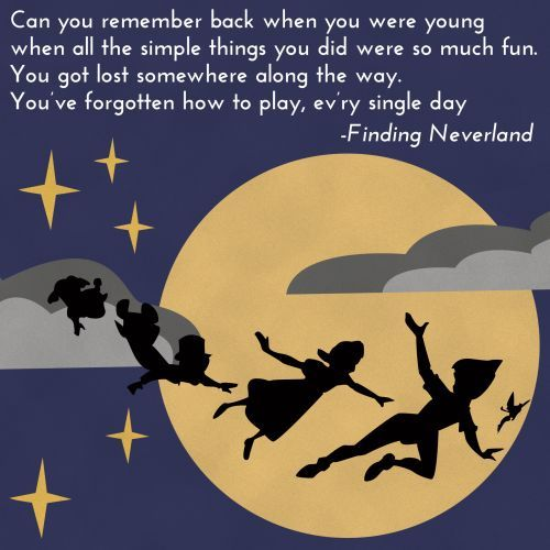 Finding Neverland / #musicals #quotes #broadway #findingneverland #lauramorgan