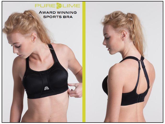 Pure Lime award winning sports bras....