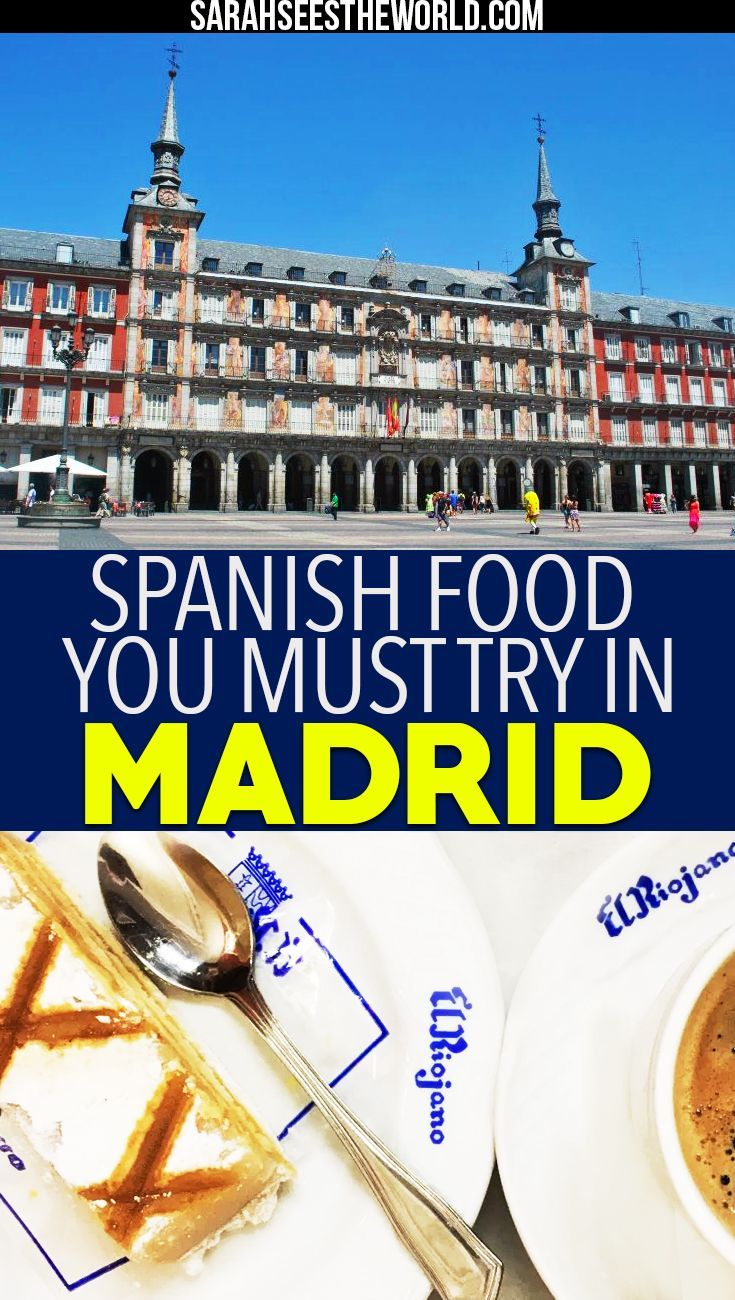 Madrid is known for its food so why not go on a food tour while you're there! Check out my food tour experience with Secret Food Tours and all the spanish food you must try in Madrid. If you love spanish food as much as we do, you'll definitely want to save this pin to your travel or food board.