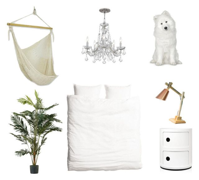 Bedroom by zoealexarobinson on Polyvore featuring polyvore interior interiors interior design home home decor interior decorating Kartell H&M NOVICA bedroom