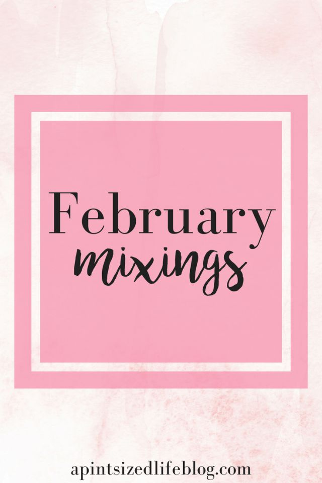 February mixings: a joke, my latest obsession and my monthly playlist